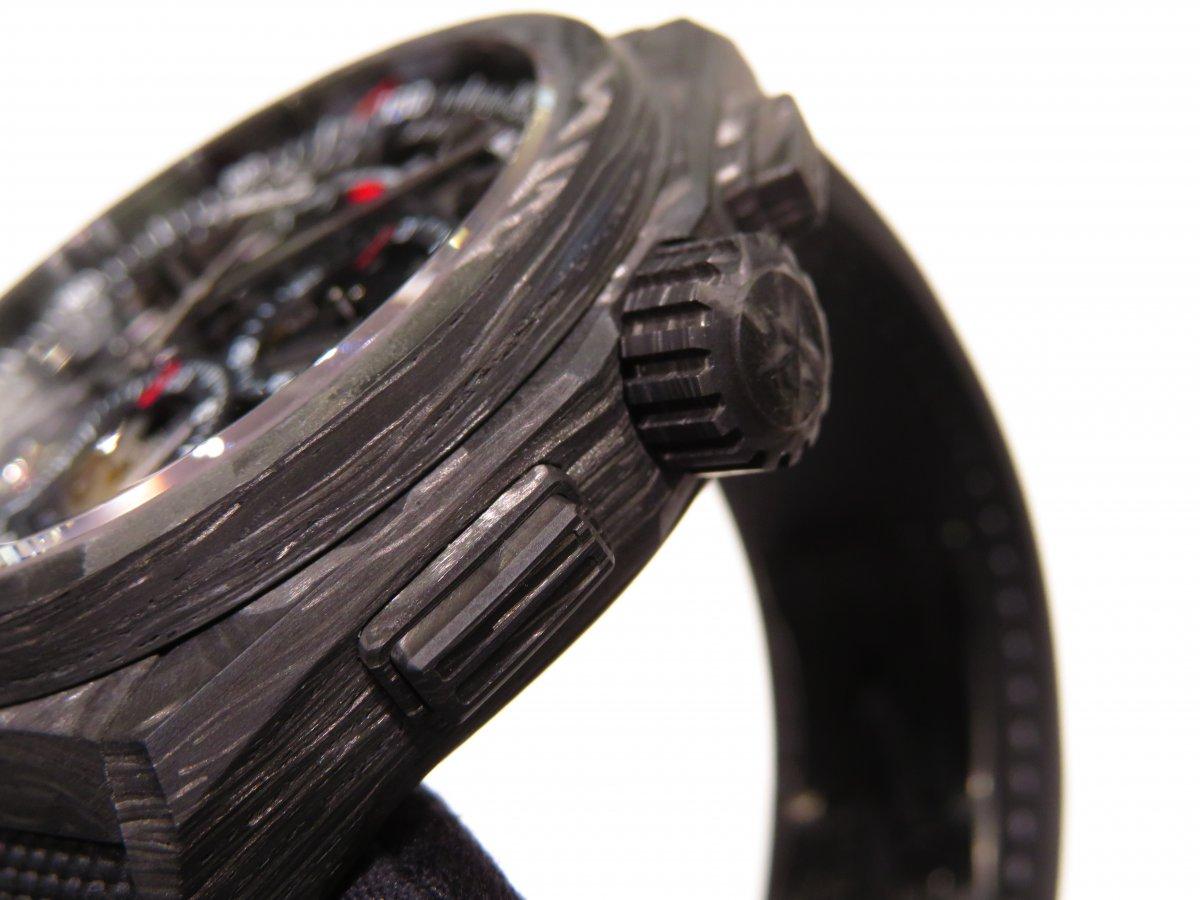 IMG_0060 男らしさを極めた時計?カーボンを身に纏った「デファイ エル・プリメロ21」 - DEFY