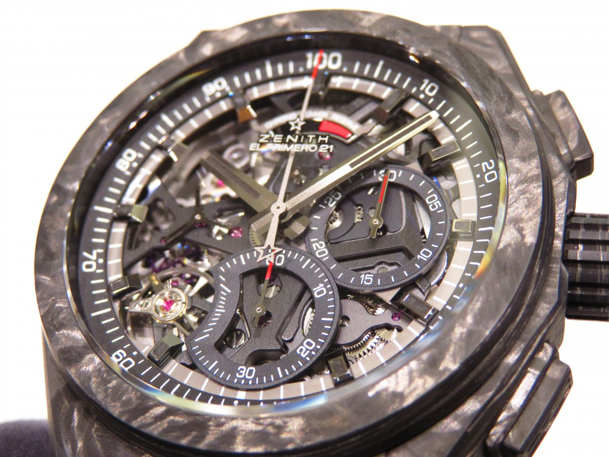 IMG_0065 男らしさを極めた時計?カーボンを身に纏った「デファイ エル・プリメロ21」 - DEFY