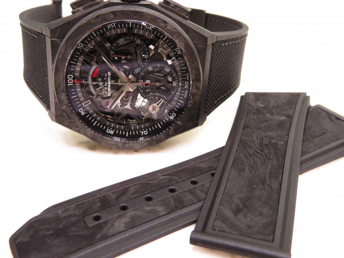 IMG_0067 男らしさを極めた時計?カーボンを身に纏った「デファイ エル・プリメロ21」 - DEFY