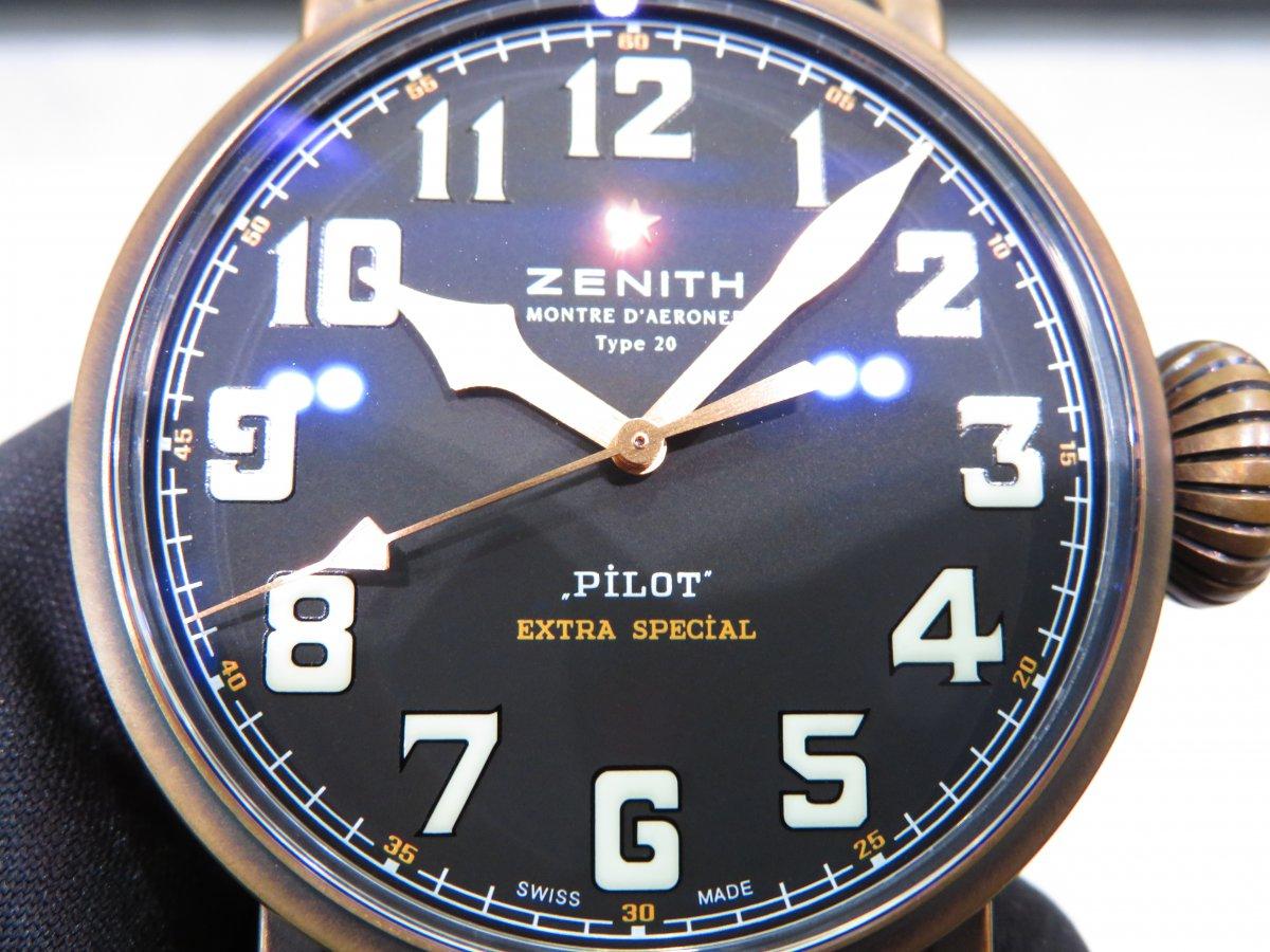 IMG_0323 使えば使い込むほど変化を楽しんで頂けるブロンズケースのパイロットウォッチ - PILOT