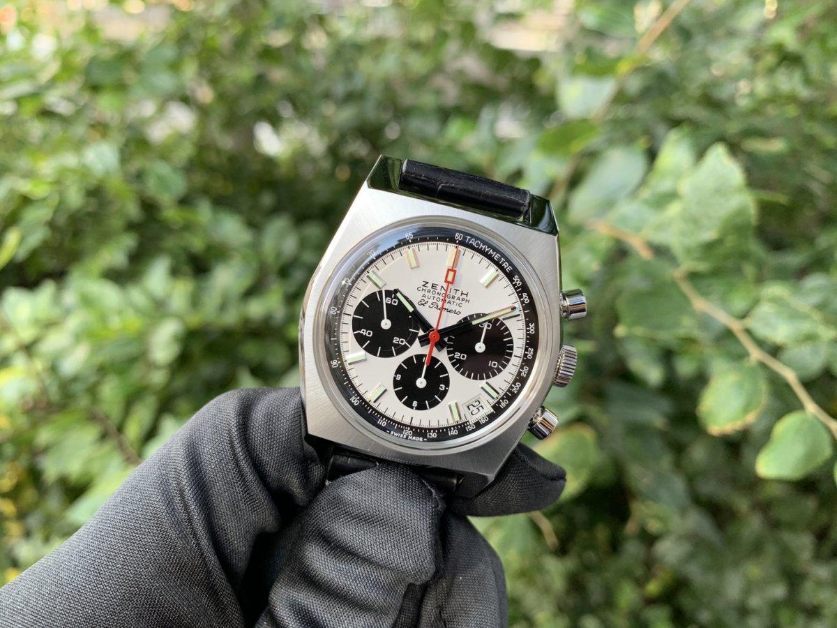 IMG_3009 次元が着用した時計!エル・プリメロはここから始まった【A384 REVIVAL】 - CHRONOMASTER OTHERS