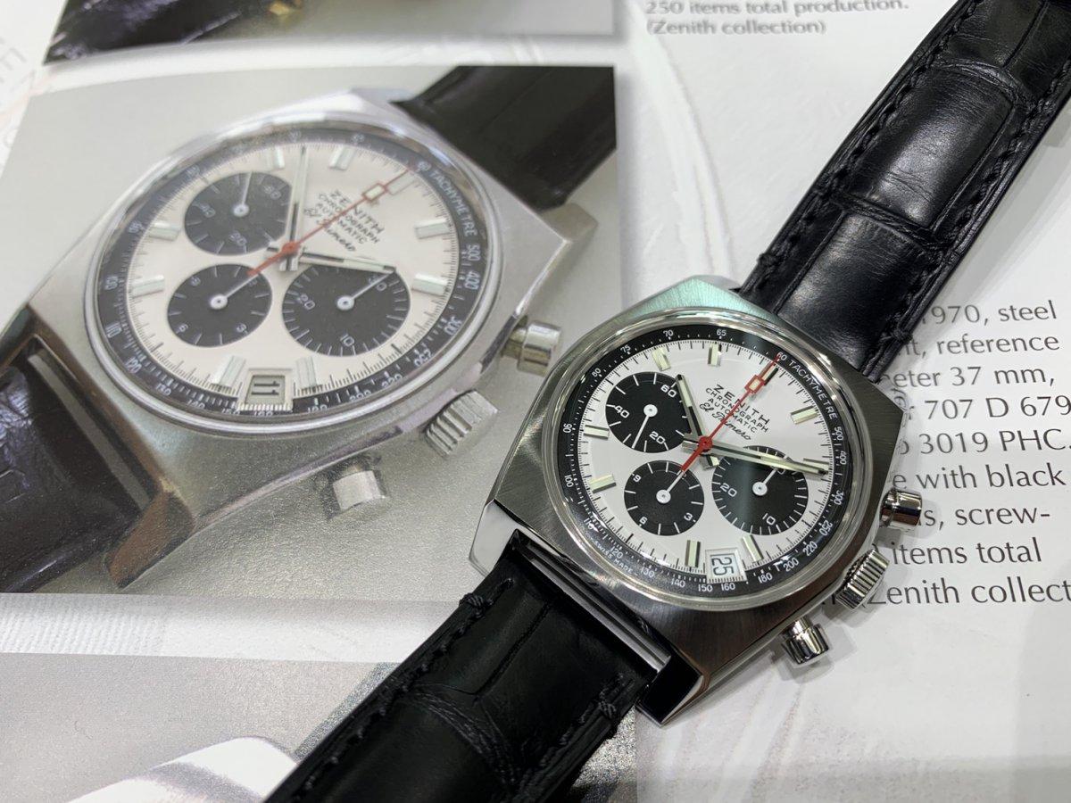 IMG_3011 次元が着用した時計!エル・プリメロはここから始まった【A384 REVIVAL】 - CHRONOMASTER OTHERS