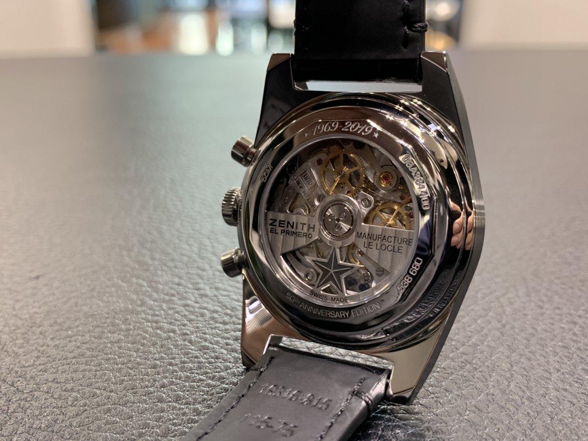 IMG_3015 次元が着用した時計!エル・プリメロはここから始まった【A384 REVIVAL】 - CHRONOMASTER OTHERS