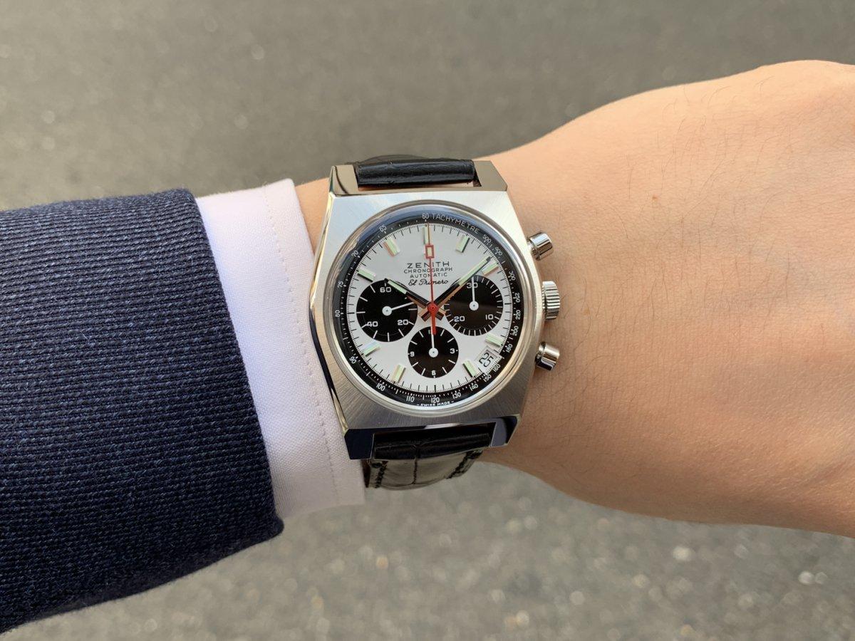 IMG_3021 次元が着用した時計!エル・プリメロはここから始まった【A384 REVIVAL】 - CHRONOMASTER OTHERS