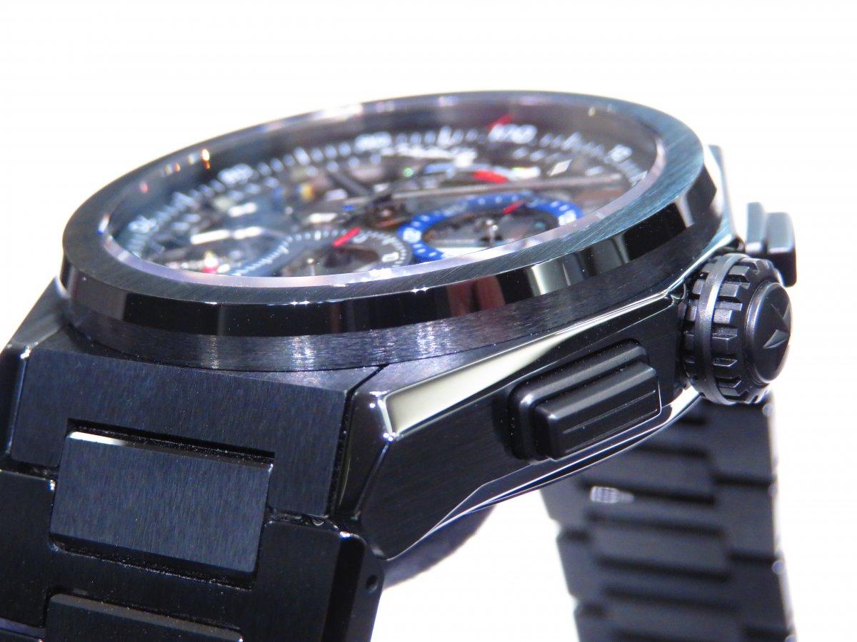 IMG_0913 「デファイ エル・プリメロ21」より精悍で艶っぽいブラックセラミックモデル。 - DEFY