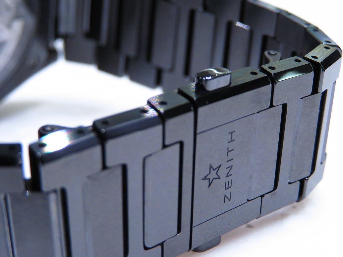 IMG_0916 「デファイ エル・プリメロ21」より精悍で艶っぽいブラックセラミックモデル。 - DEFY