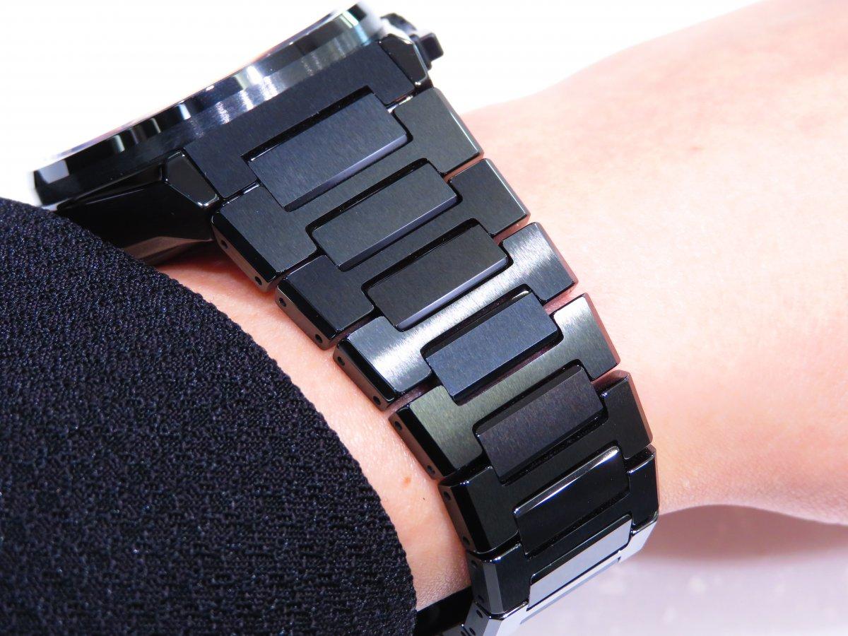 IMG_0921 「デファイ エル・プリメロ21」より精悍で艶っぽいブラックセラミックモデル。 - DEFY