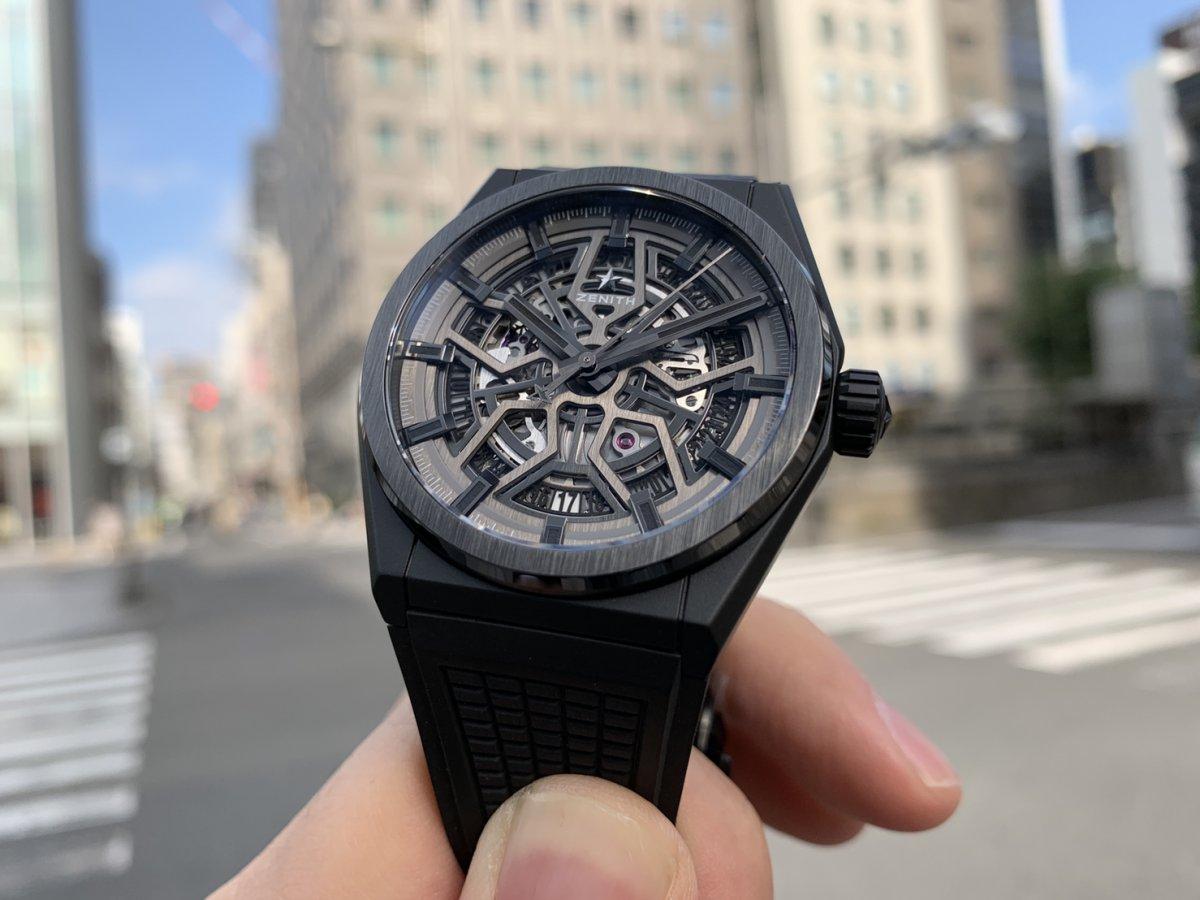 IMG_3529 オールブラックの時計はいかがですか?【デファイクラシックセラミック】 - DEFY