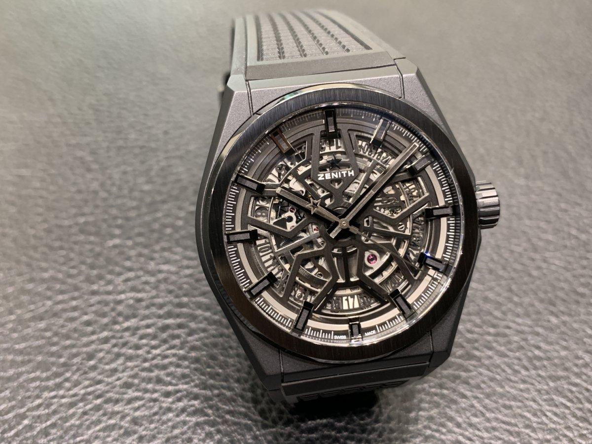 IMG_3532 オールブラックの時計はいかがですか?【デファイクラシックセラミック】 - DEFY