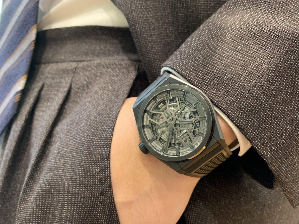 IMG_3536 オールブラックの時計はいかがですか?【デファイクラシックセラミック】 - DEFY