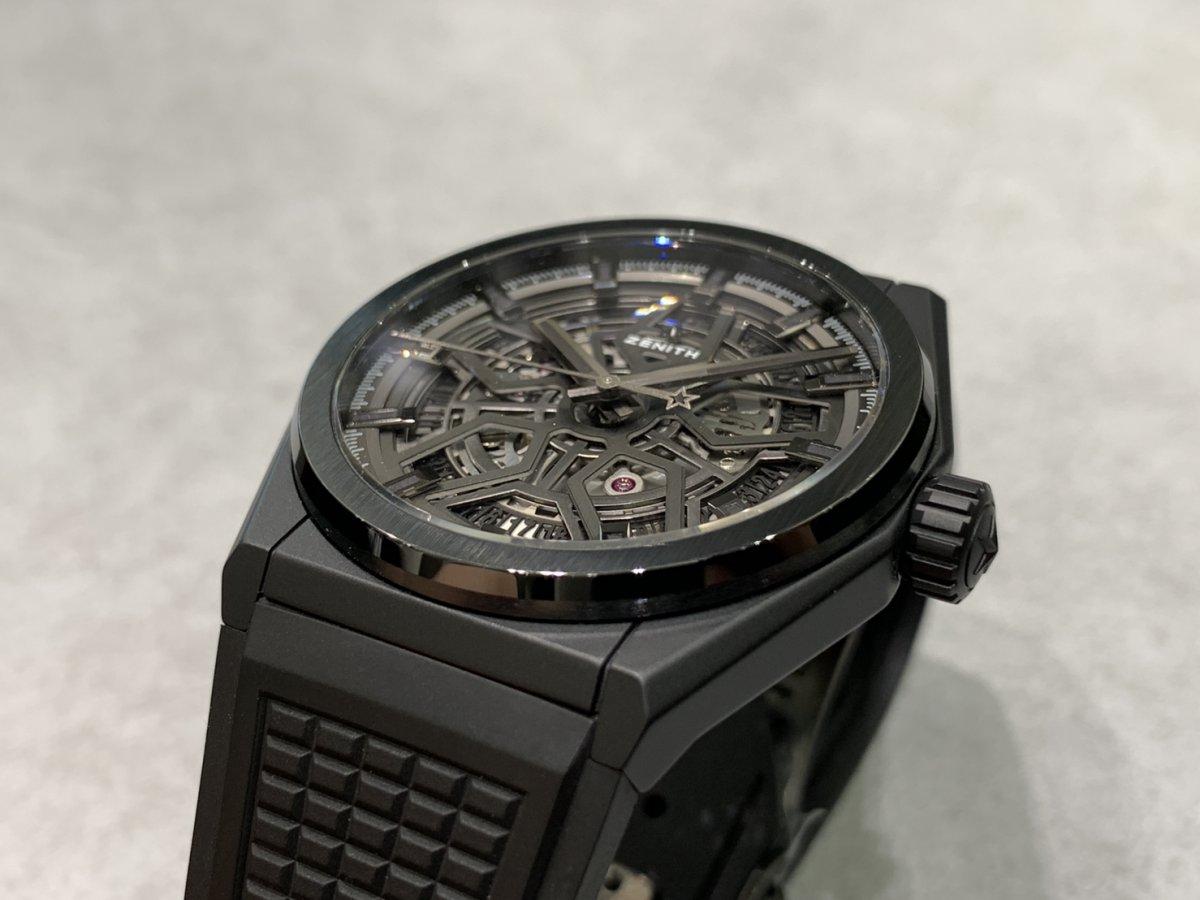 IMG_3544 オールブラックの時計はいかがですか?【デファイクラシックセラミック】 - DEFY