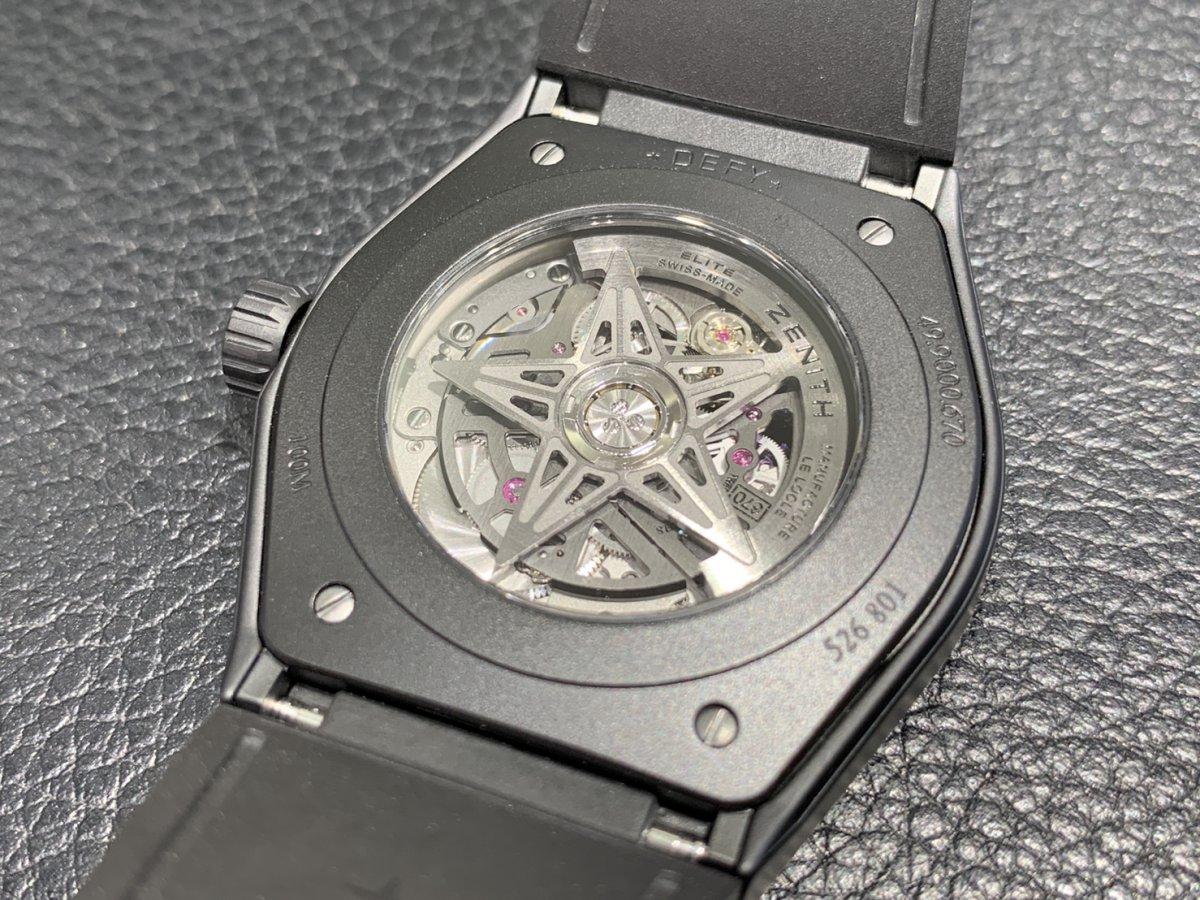 IMG_3547 オールブラックの時計はいかがですか?【デファイクラシックセラミック】 - DEFY