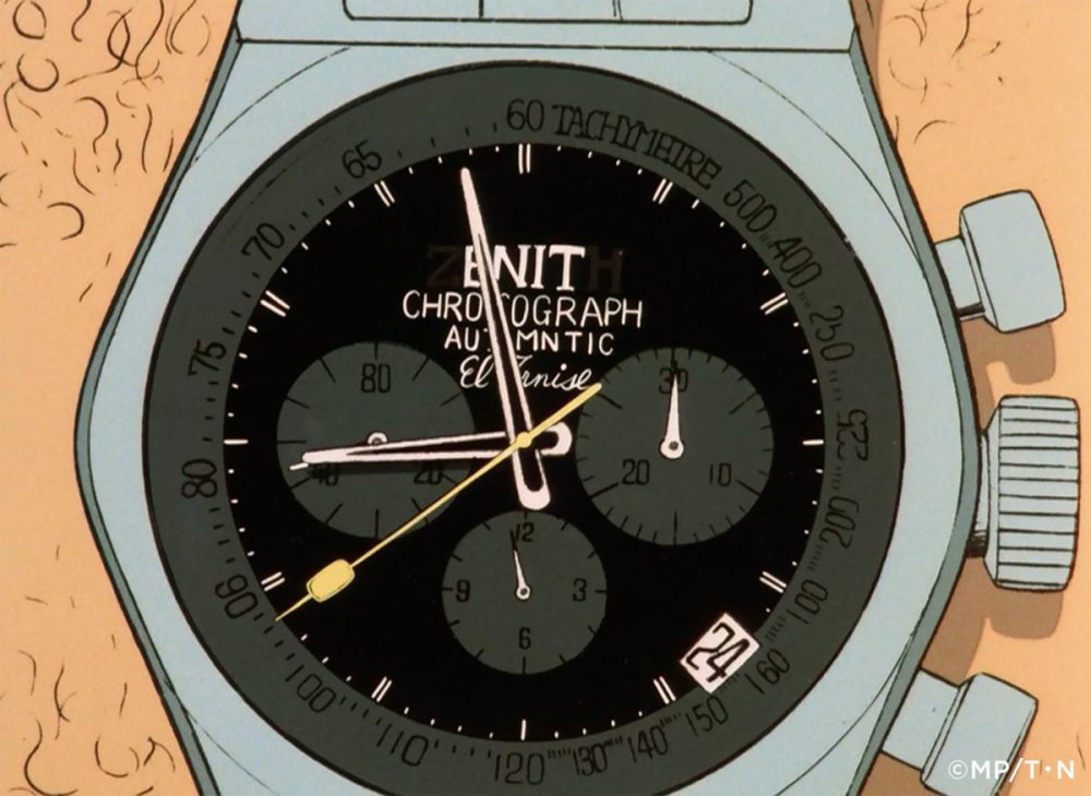 lupin_image_captured_Watch_Copyrigh-1000x730 日本限定50本「ルパン三世」1st TVアニメシリーズの第一話の次元着用モデルの予約受付中! - CHRONOMASTER ご案内