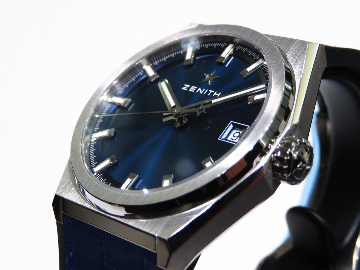 IMG_1153 ブルーが美しい「デファイ クラシック」ソリッドなクローズドダイヤル。 - DEFY