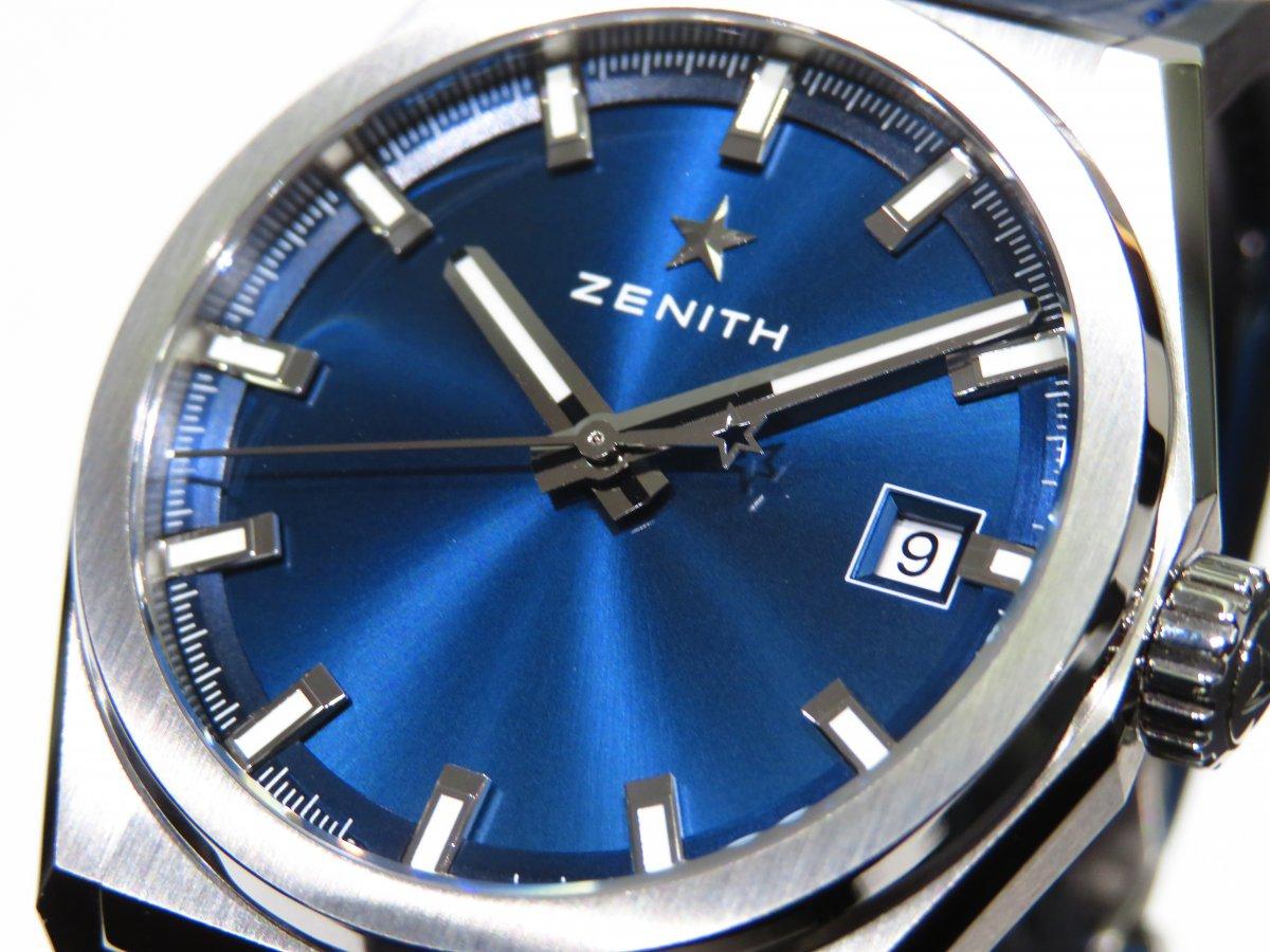 IMG_1154-1 ブルーが美しい「デファイ クラシック」ソリッドなクローズドダイヤル。 - DEFY