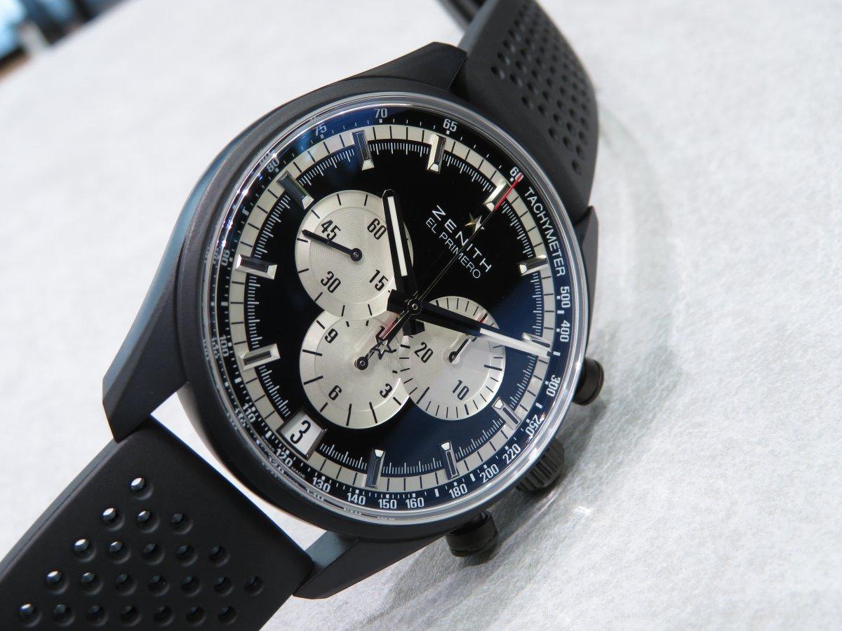 IMG_1235 スポーティとクラシカルな表情を併せ持つ生産終了モデル「エル・プリメロ 42mm」 - CHRONOMASTER