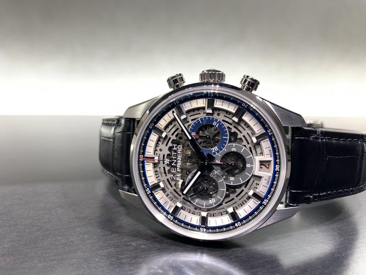 IMG_3925 機械式時計ならではの魅力。メカニカルでカッコ良い「エル・プリメロ フルオープン 42㎜」 - CHRONOMASTER