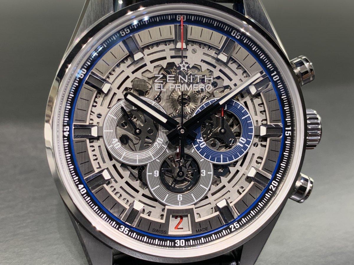 IMG_3927 機械式時計ならではの魅力。メカニカルでカッコ良い「エル・プリメロ フルオープン 42㎜」 - CHRONOMASTER