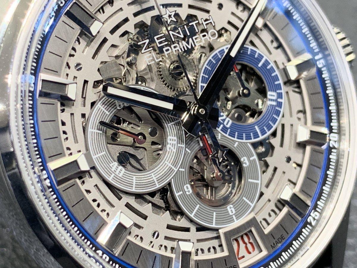 IMG_3932 機械式時計ならではの魅力。メカニカルでカッコ良い「エル・プリメロ フルオープン 42㎜」 - CHRONOMASTER