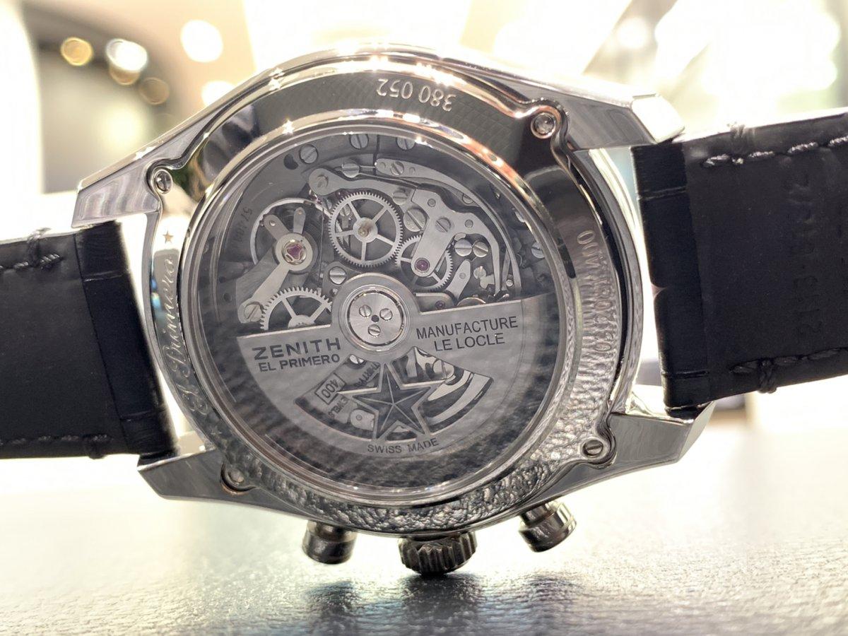 IMG_3934 機械式時計ならではの魅力。メカニカルでカッコ良い「エル・プリメロ フルオープン 42㎜」 - CHRONOMASTER