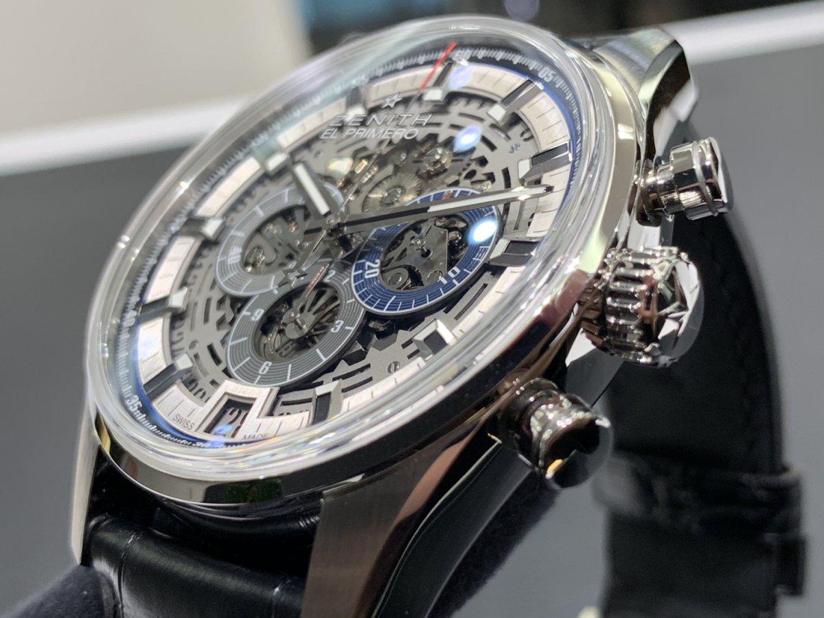IMG_3944 機械式時計ならではの魅力。メカニカルでカッコ良い「エル・プリメロ フルオープン 42㎜」 - CHRONOMASTER