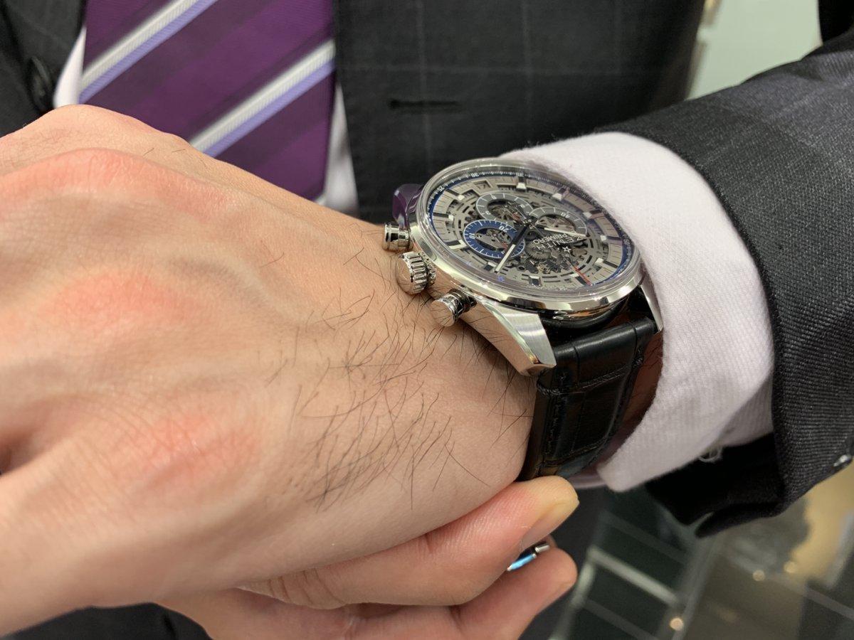 IMG_3947 機械式時計ならではの魅力。メカニカルでカッコ良い「エル・プリメロ フルオープン 42㎜」 - CHRONOMASTER