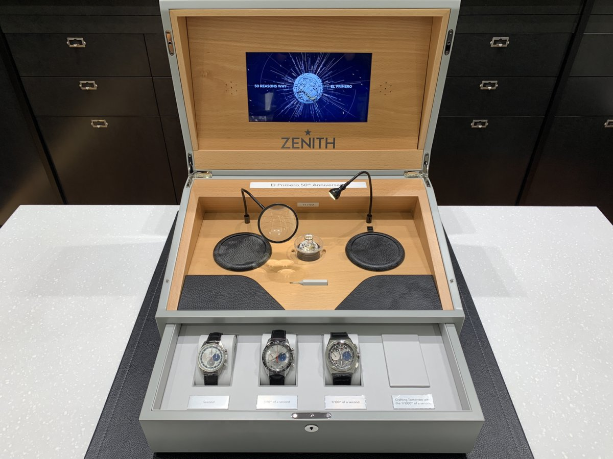 IMG_4049 エル・プリメロの50周年を祝う、豪華な50セット限定特別ボックス! - DEFY CHRONOMASTER