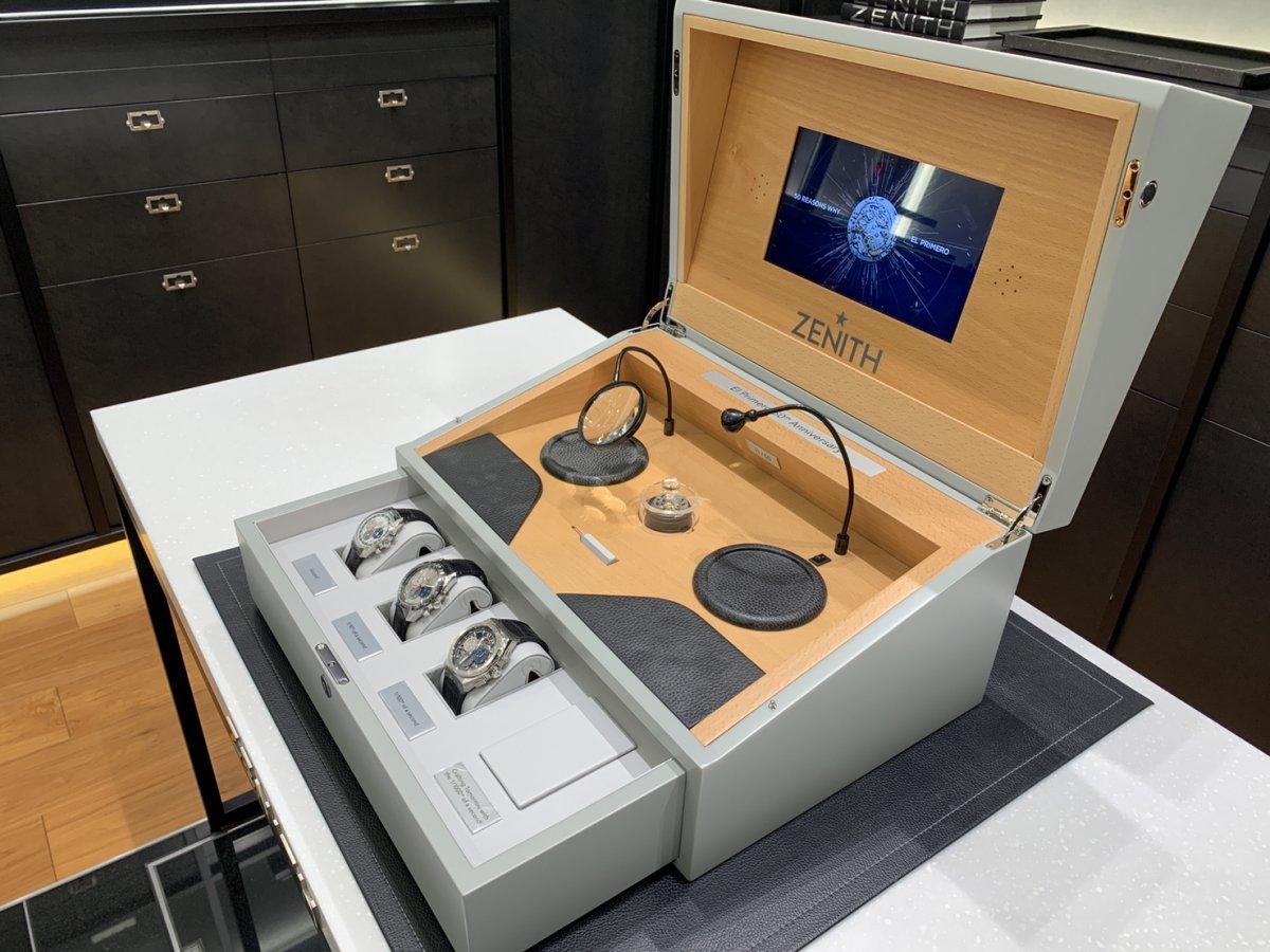 IMG_4050 エル・プリメロの50周年を祝う、豪華な50セット限定特別ボックス! - DEFY CHRONOMASTER