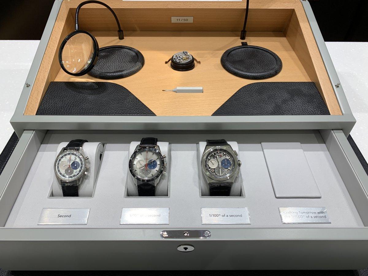 IMG_4056 エル・プリメロの50周年を祝う、豪華な50セット限定特別ボックス! - DEFY CHRONOMASTER