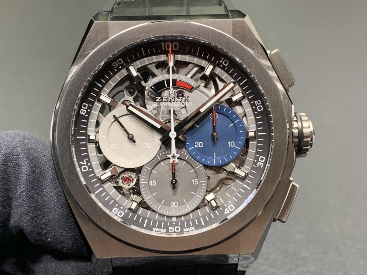 IMG_4073 エル・プリメロの50周年を祝う、豪華な50セット限定特別ボックス! - DEFY CHRONOMASTER