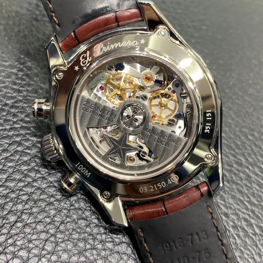 IMG_4748 50年受け継がれるデザイン【エル・プリメロ38mm】 - CHRONOMASTER