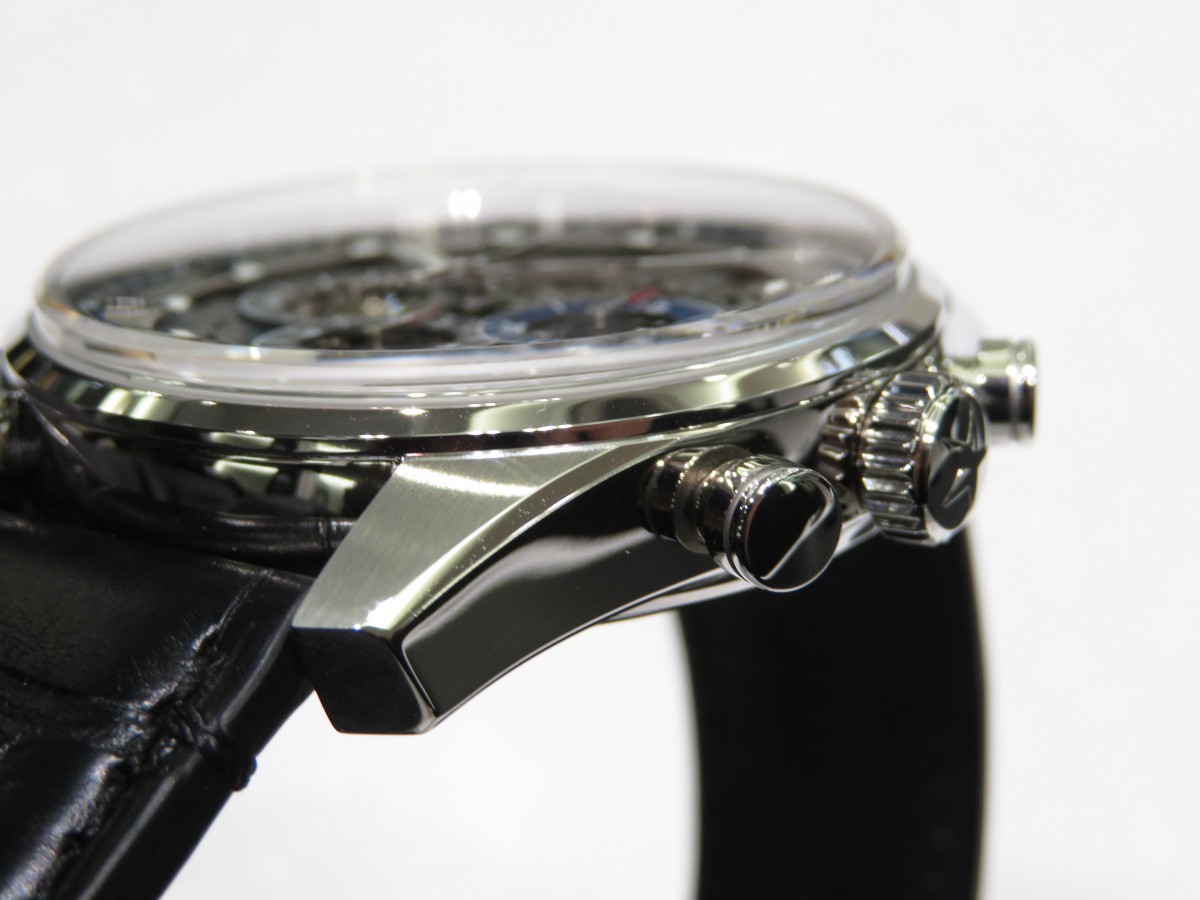 IMG_1673 今年生産終了が発表された「エル・プリメロ フルオープン」幅広く使えるスケルトンモデル。 - CHRONOMASTER