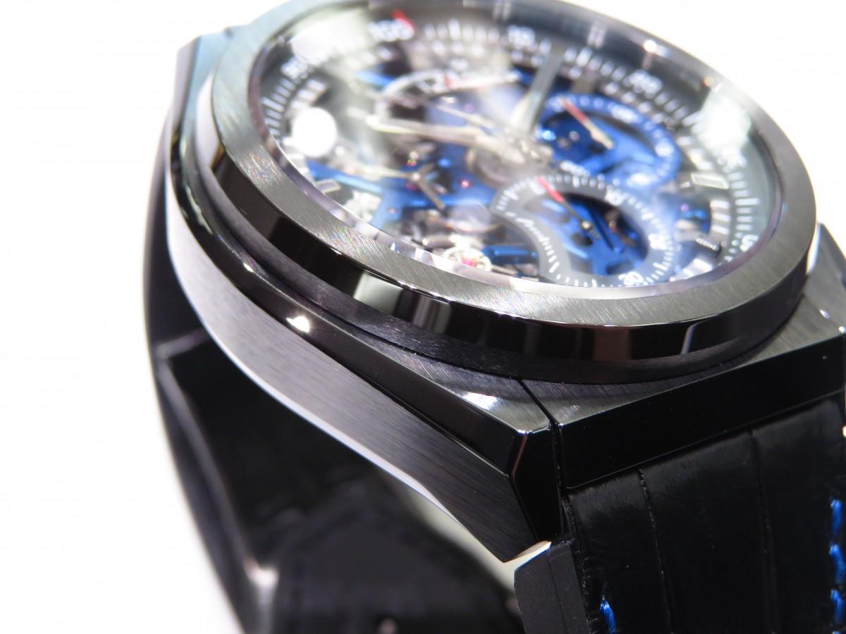 IMG_1689 ブティック250本限定 ブラックとブルーのコントラストが男前な高性能モデル「デファイ エル・プリメロ21」 - DEFY