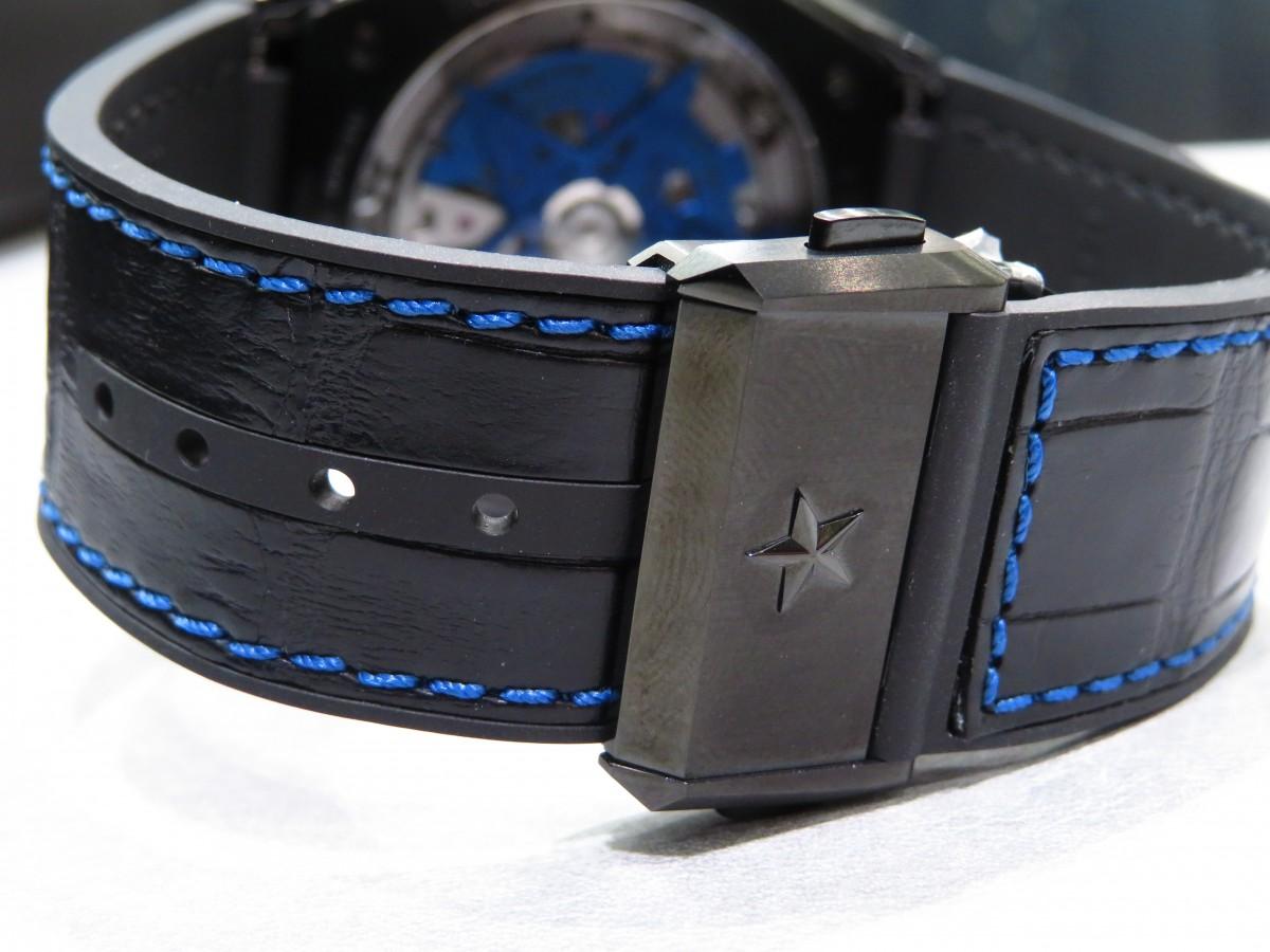 IMG_1697 ブティック250本限定 ブラックとブルーのコントラストが男前な高性能モデル「デファイ エル・プリメロ21」 - DEFY