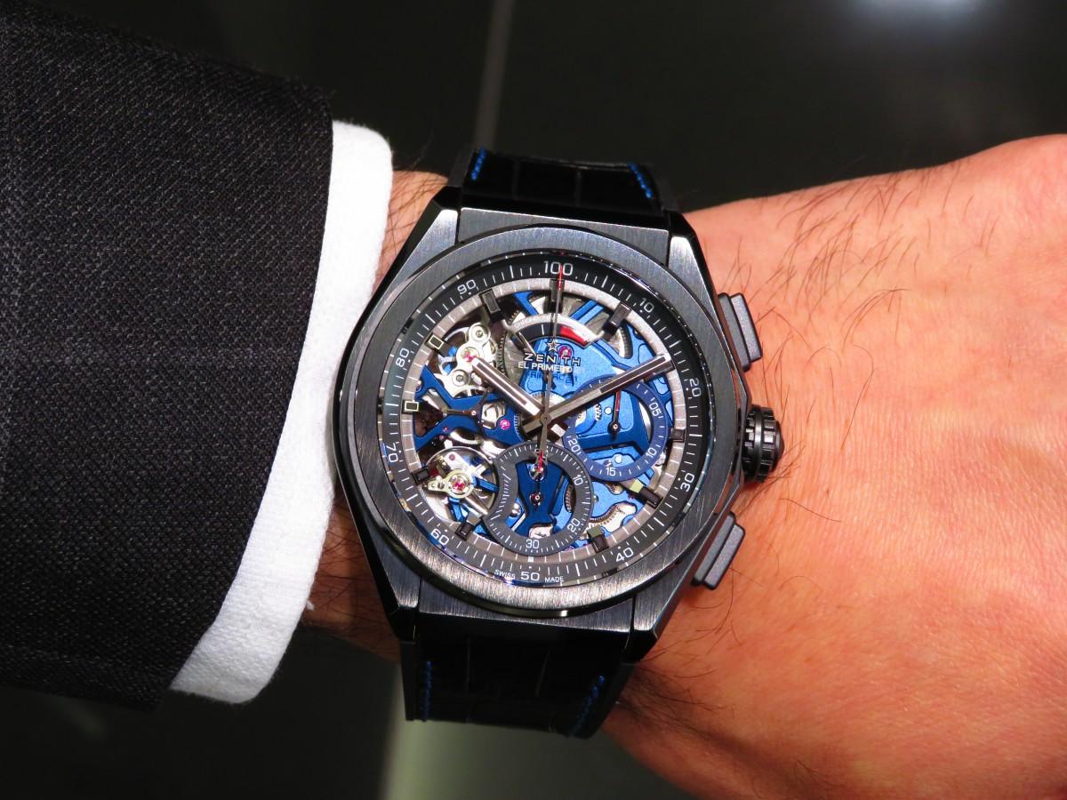 ブティック250本限定 ブラックとブルーのコントラストが男前な高性能モデル「デファイ エル・プリメロ21」 - DEFY |IMG_1707