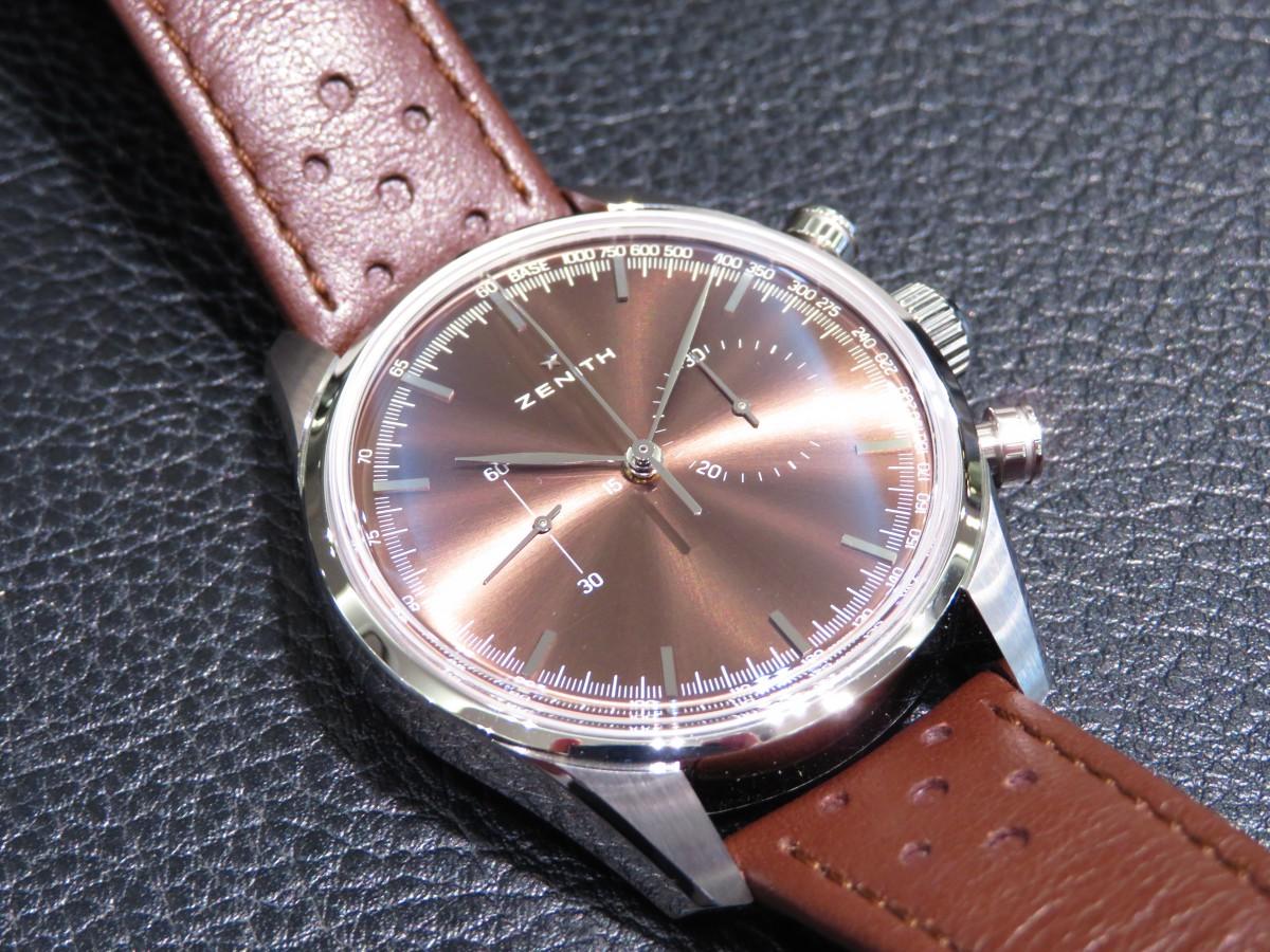 IMG_1812 1960年代のモデルにインスピレーションを得て作られたエルプリメロ ヘリテージ146 - CHRONOMASTER