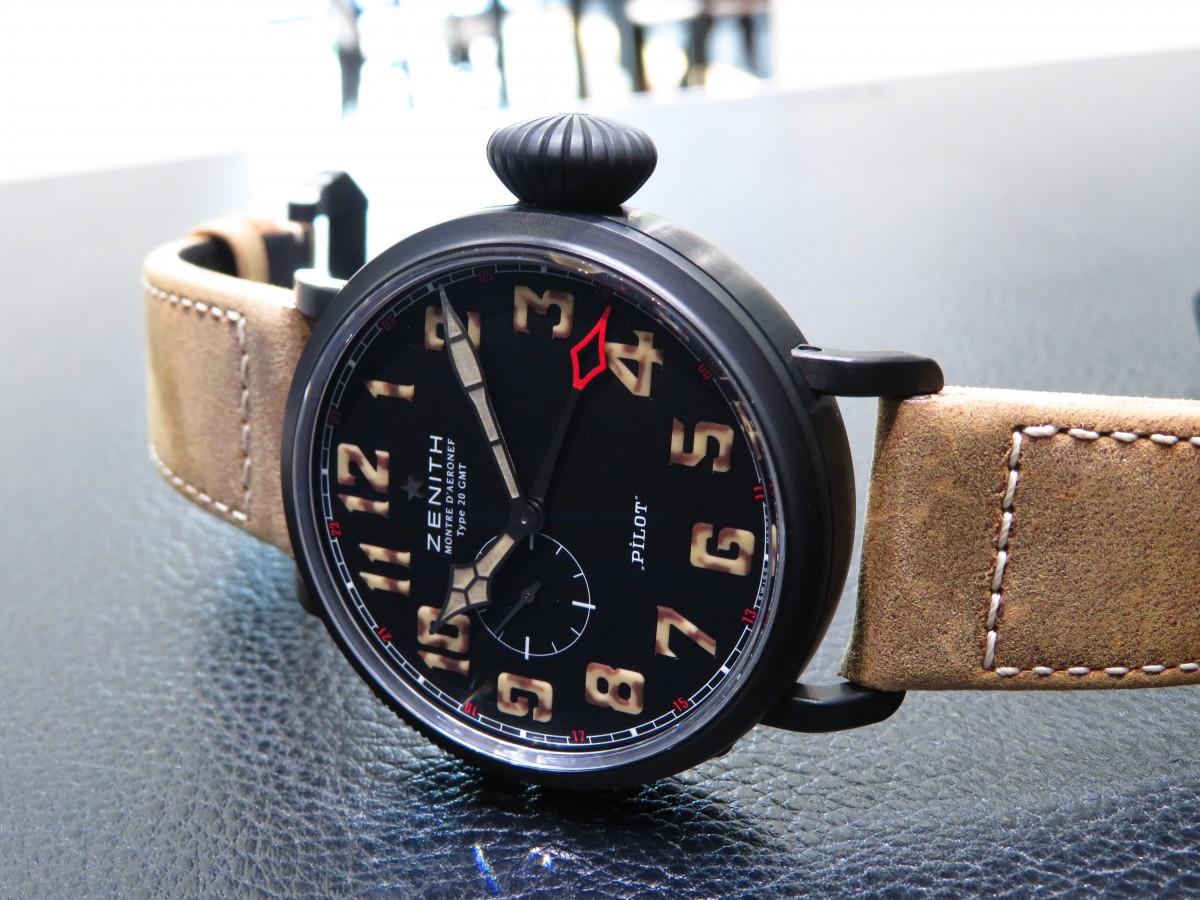 IMG_1840 パイロットウォッチの名に相応しい高い視認性を備えた1903本限定の「パイロット タイプ20 GMT 1903」 - PILOT