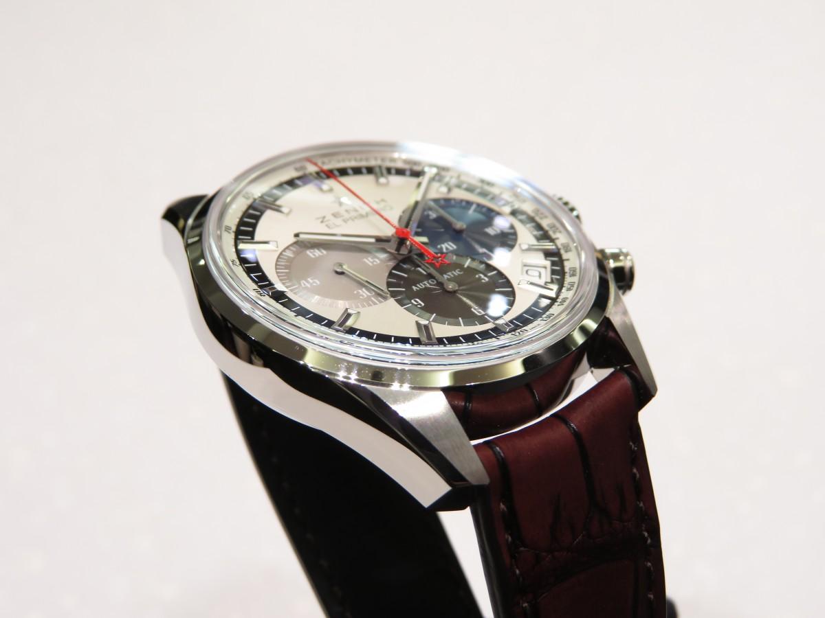 IMG_1904 1969年製のオリジナルモデルのデザインを受け継いだ「エル・プリメロ 38mm」 - CHRONOMASTER