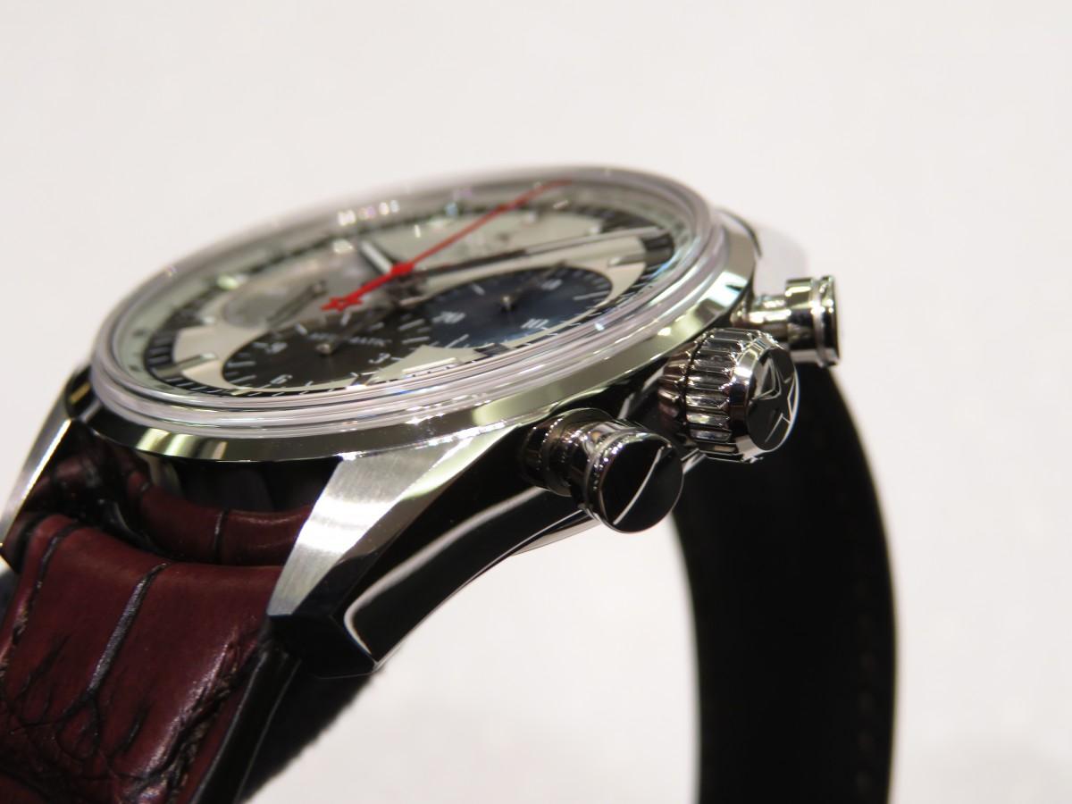IMG_1906 1969年製のオリジナルモデルのデザインを受け継いだ「エル・プリメロ 38mm」 - CHRONOMASTER