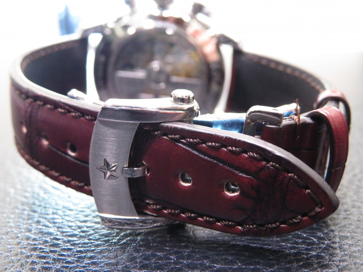 IMG_1911 1969年製のオリジナルモデルのデザインを受け継いだ「エル・プリメロ 38mm」 - CHRONOMASTER