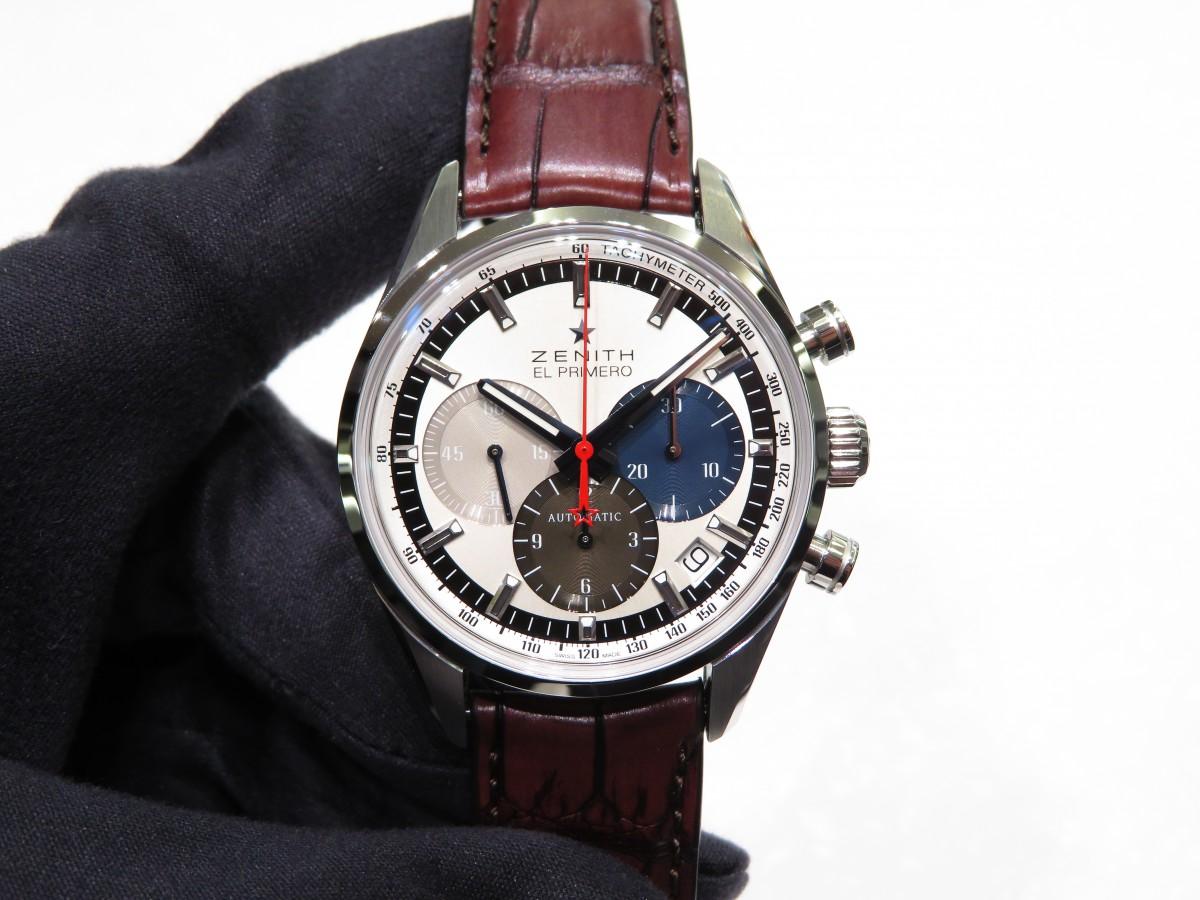 IMG_1913 1969年製のオリジナルモデルのデザインを受け継いだ「エル・プリメロ 38mm」 - CHRONOMASTER