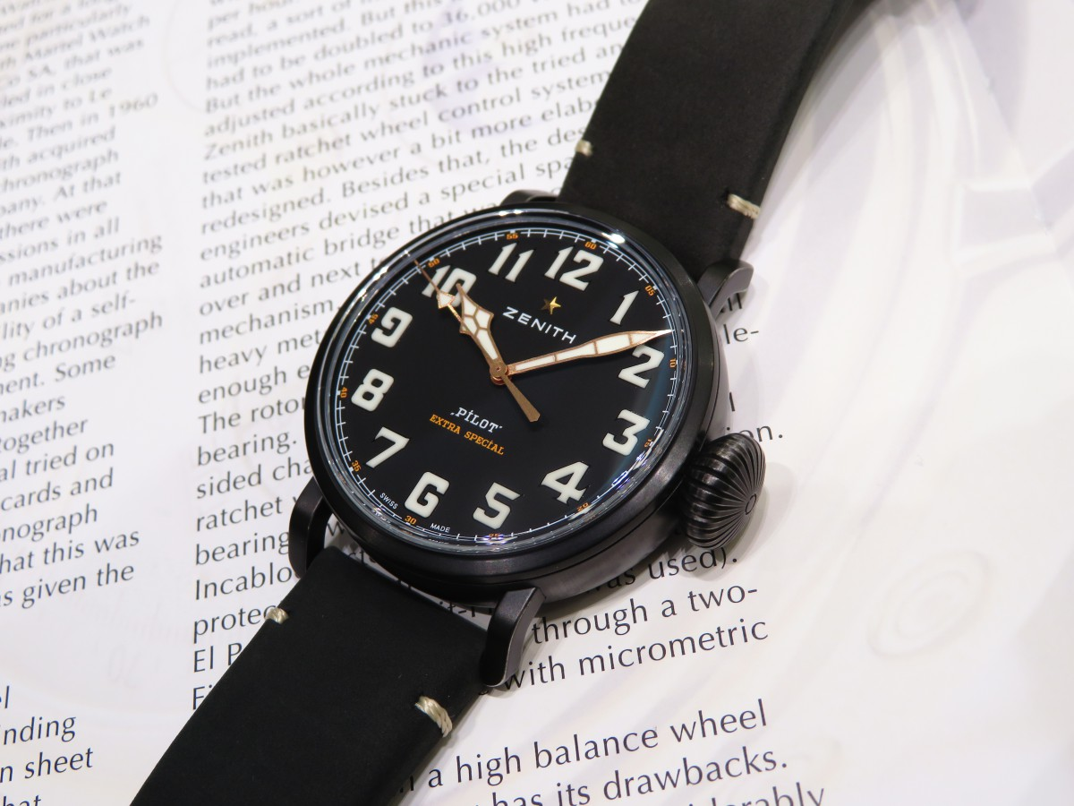 IMG_1989 バイクが似合う時計?オールブラックで精悍な「パイロット タイプ20 TON-UP」 - PILOT