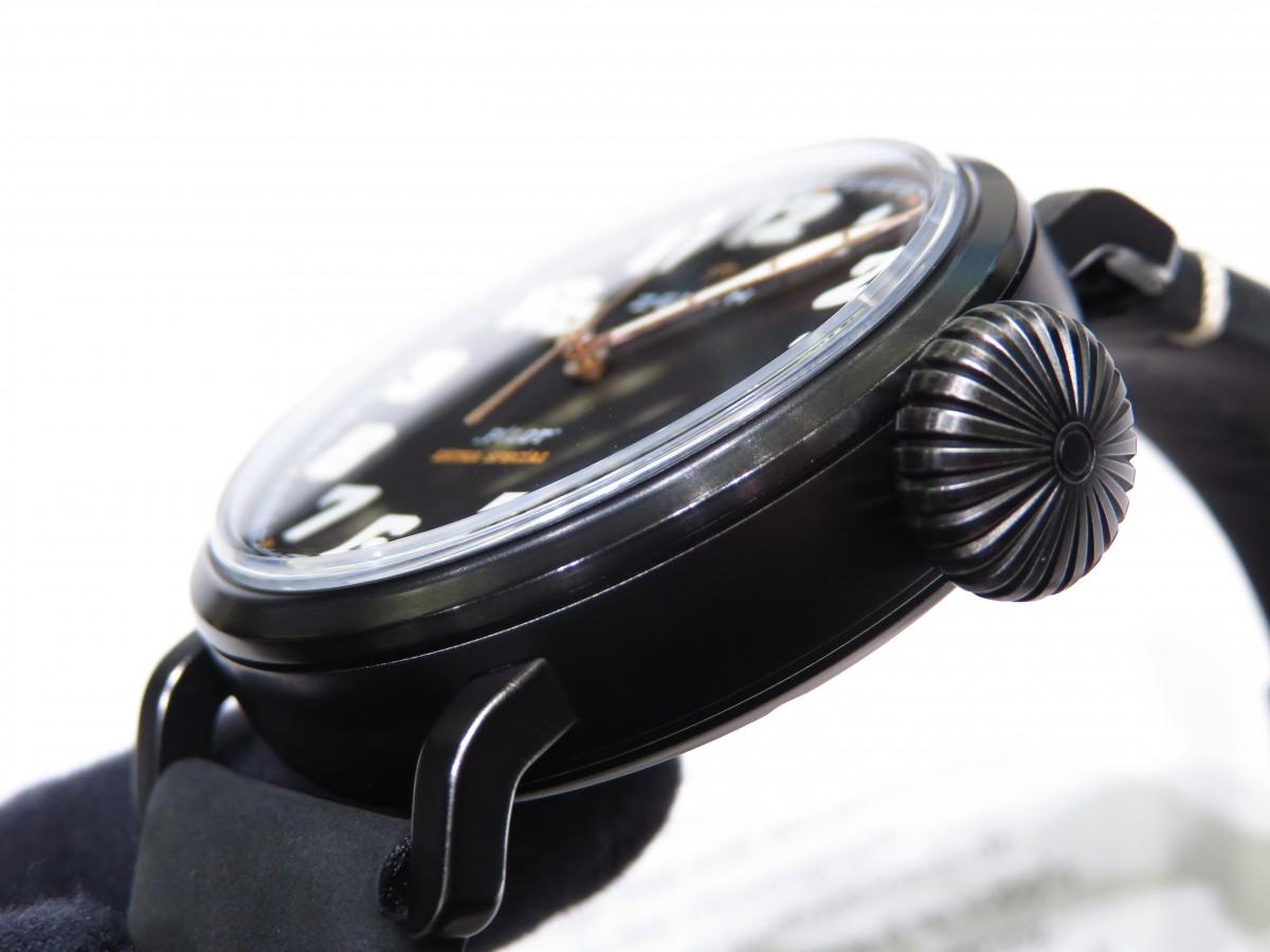 IMG_1992 バイクが似合う時計?オールブラックで精悍な「パイロット タイプ20 TON-UP」 - PILOT