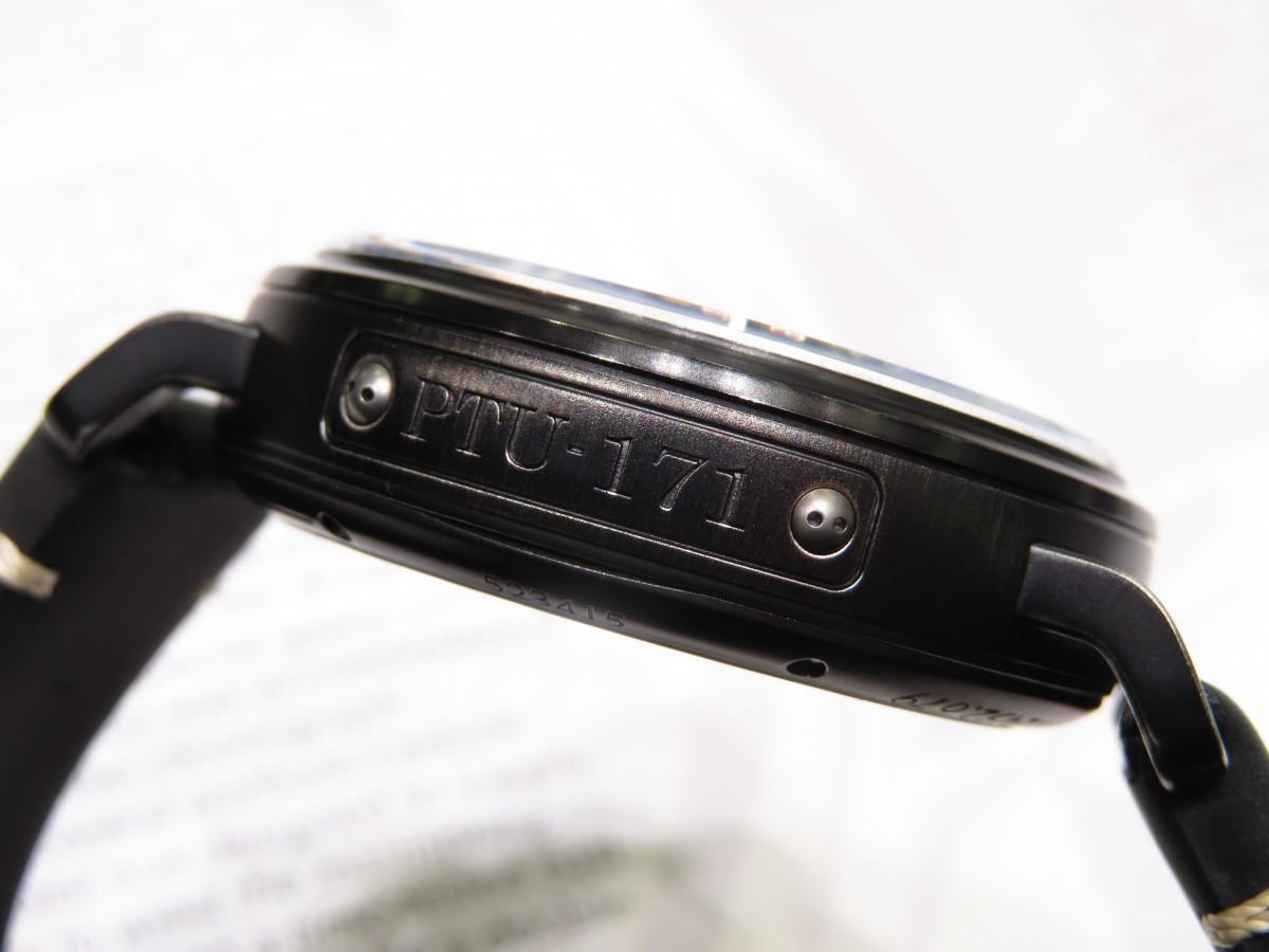 IMG_1994 バイクが似合う時計?オールブラックで精悍な「パイロット タイプ20 TON-UP」 - PILOT
