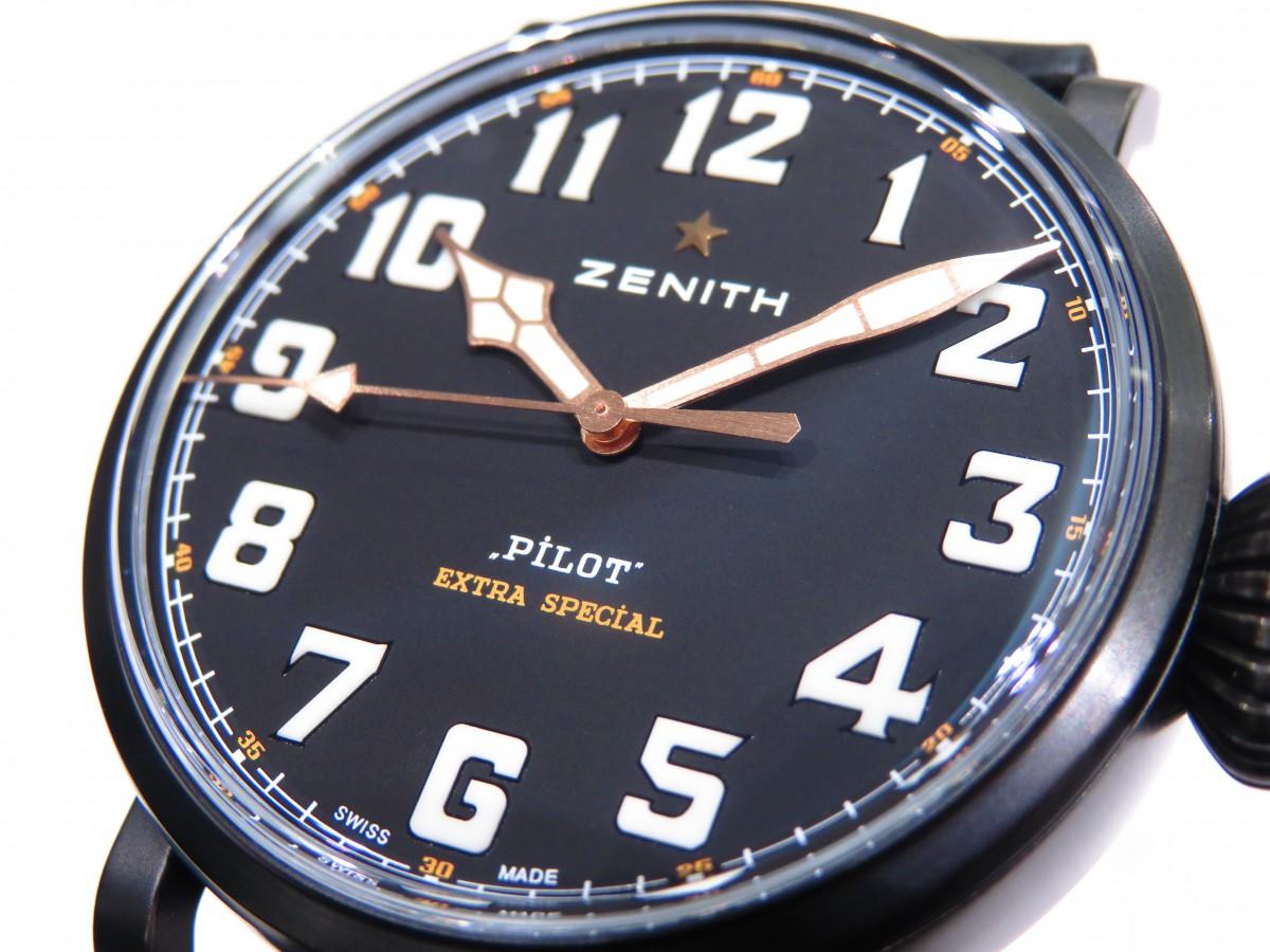 IMG_1995 バイクが似合う時計?オールブラックで精悍な「パイロット タイプ20 TON-UP」 - PILOT