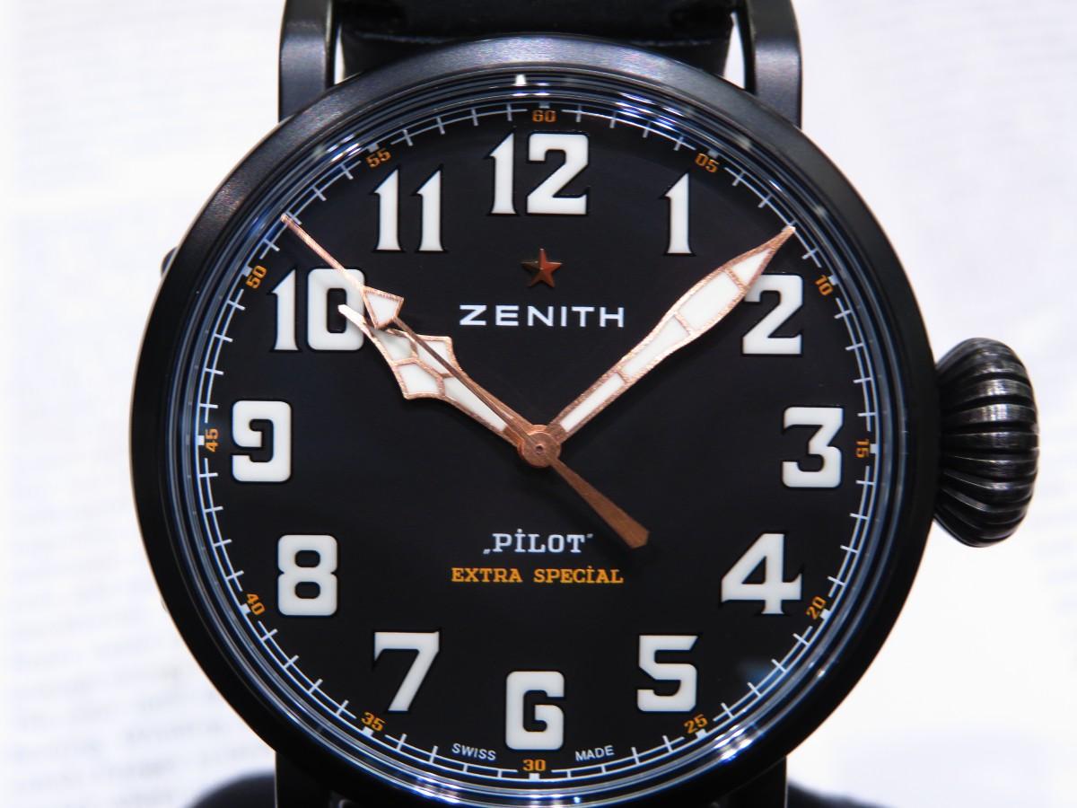 IMG_1997 バイクが似合う時計?オールブラックで精悍な「パイロット タイプ20 TON-UP」 - PILOT