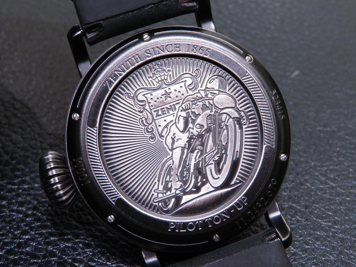 IMG_2001 バイクが似合う時計?オールブラックで精悍な「パイロット タイプ20 TON-UP」 - PILOT