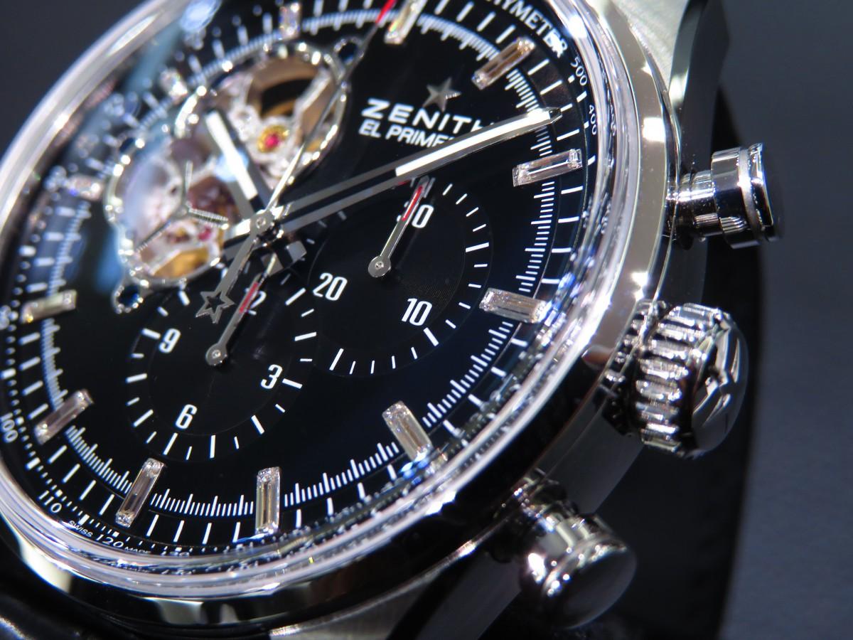 IMG_2144 ゼニスブティック大阪だけの特別モデル!20本限定の「エル・プリメロ オープン」 - CHRONOMASTER