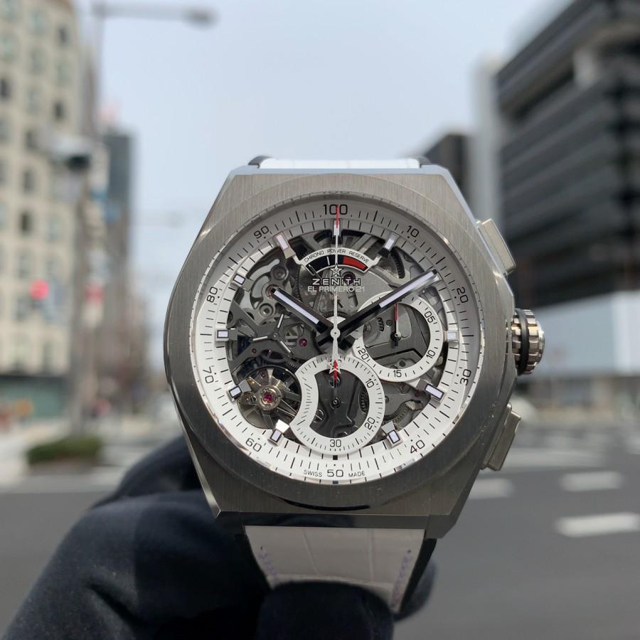 IMG_6114 ホワイト×レッドの日本限定仕様!【デファイ エル・プリメロ21 JAPAN LIMITED】 - DEFY