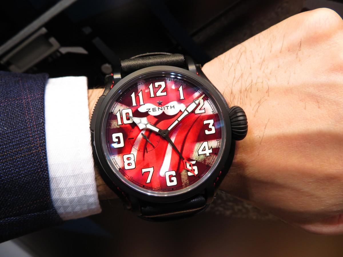 ロックを感じる?パイロットウォッチシリーズからこんなスペシャル限定モデルが!パイロット タイプ20 GMT トリビュート トゥ ザ・ローリング・ストーンズ - PILOT |IMG_2256